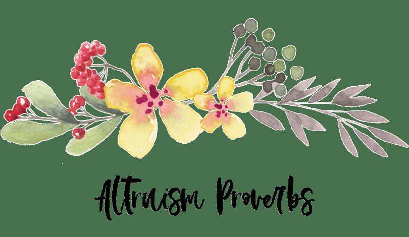 altruism-proverbs